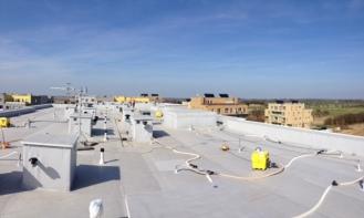 Vysoušení střechy