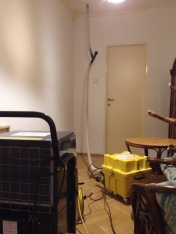 Vysoušení stropní konstrukce