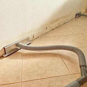 Vysoušení konstrukce podlahy bez nutnosti navrtání